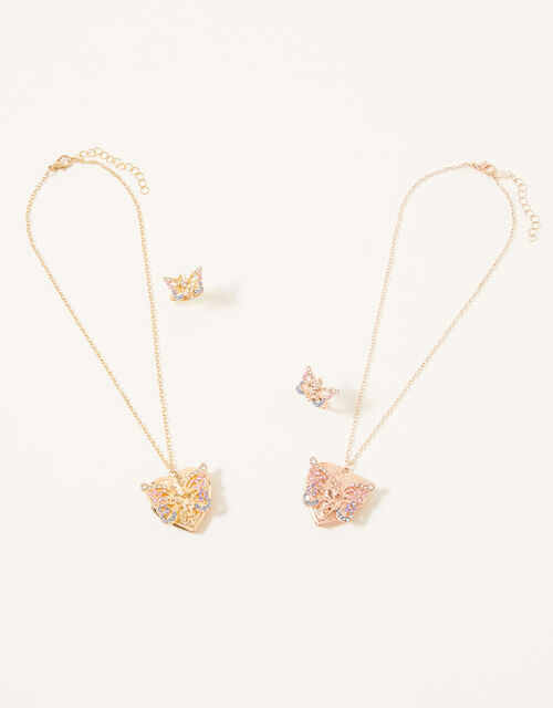 Unicorn Wings Tear-and-Share Jewellery Set, , large