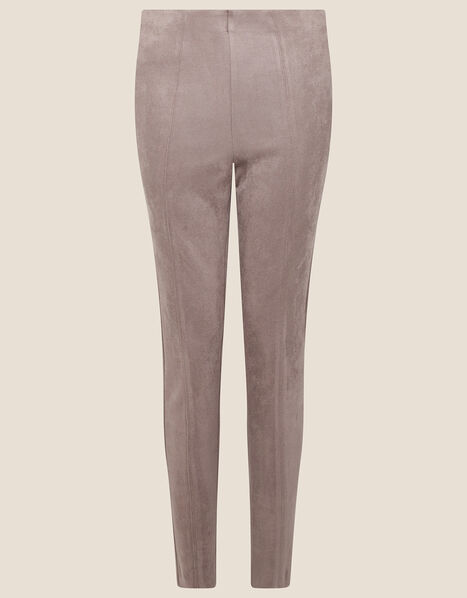Cecily Suedette Leggings Brown, Brown (TAUPE), large