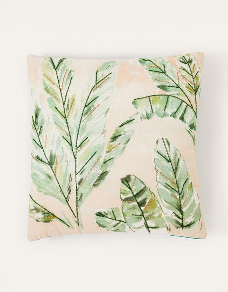 Palm Tree Fan Cushion, , large