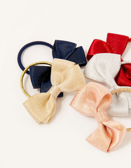 Mini Bow Hair Bands, , large