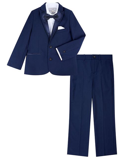 Thomas 4PC Tuxedo Set, Blue (NAVY), large