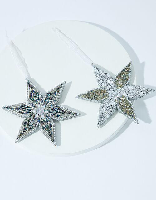 Sparkle Star Christmas Decoration Set, , large