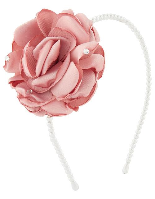 Poppy Oversized Flower Headband, , large