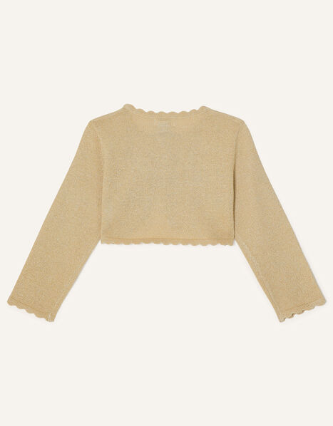 Baby Niamh Cardigan Gold, Gold (GOLD), large