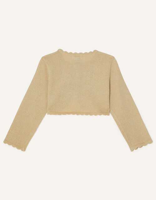 Baby Niamh Cardigan, Gold (GOLD), large