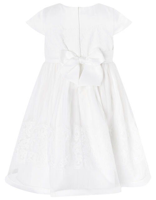Baby Alovette Christening Gown, Ivory (IVORY), large