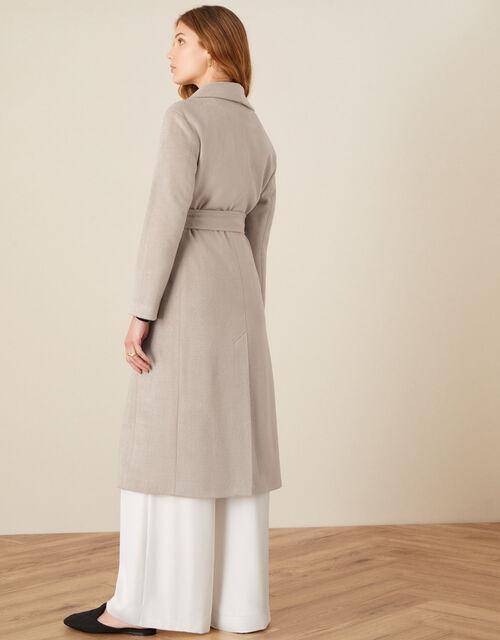 Rowan Robe Coat, Camel (OATMEAL), large