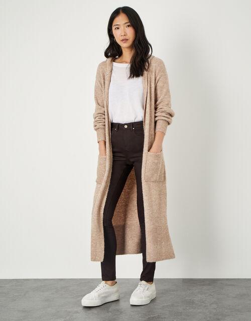 Nadine Regular-Length Skinny Jeans, Brown (CHOCOLATE), large
