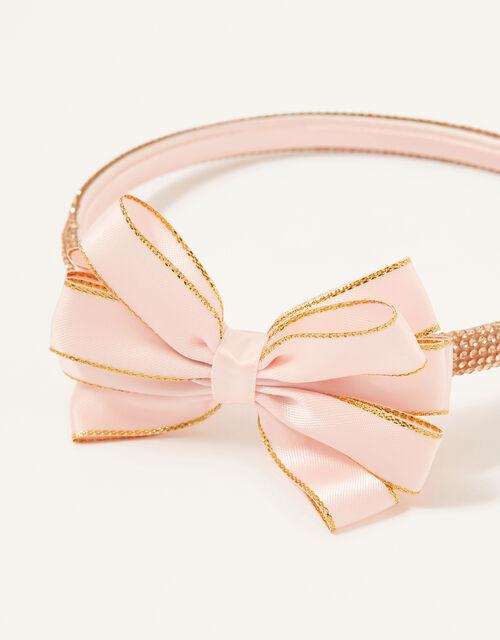 Bow Diamante Headband , , large