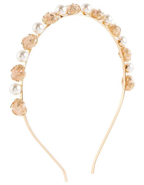 Rose Garden Flower Headband , , large