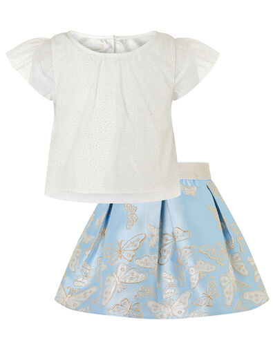 Baby Cascading Butterfly Set Blue, Blue (BLUE), large
