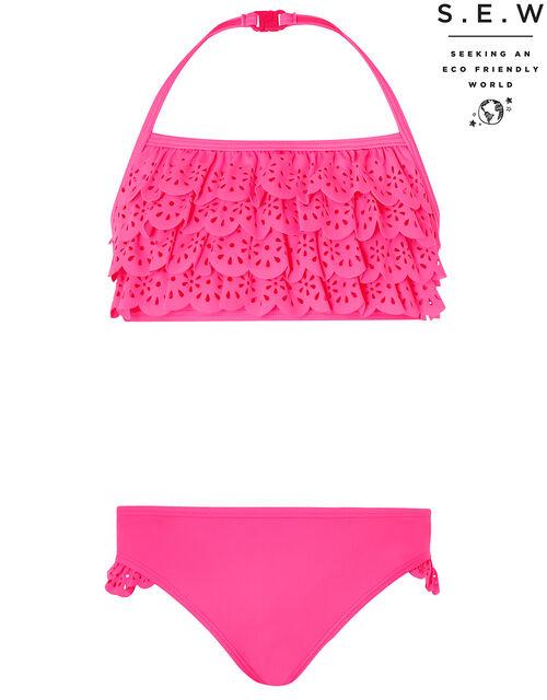 Rosie Ruffle Bikini Set, Pink (PINK), large