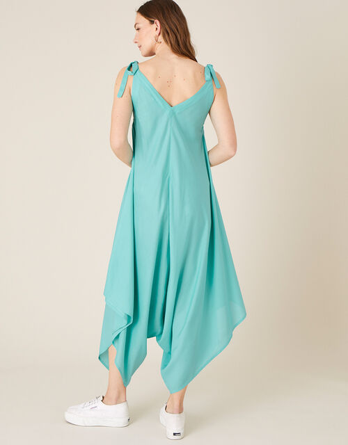Relaxed Romper in LENZING™ ECOVERO™, Green (GREEN), large