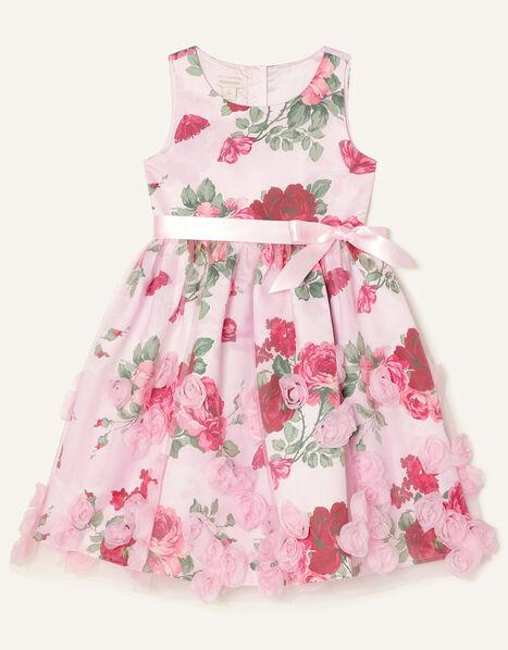 3D Rose Dress Pink, Pink (PINK), large