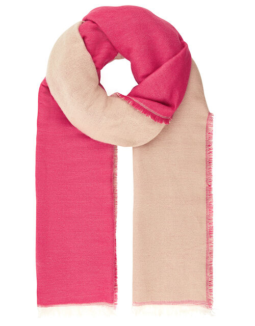 Daisy Double Sided Scarf, , large
