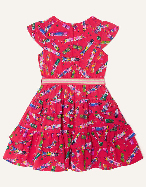 Christmas Cracker Rara Dress , Red (RED), large