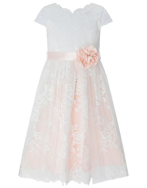 Artoise Floral Lace Dress, Pink (PALE PINK), large