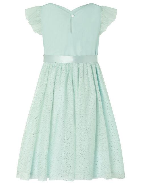 Aruba Sparkle Sequin Maxi Dress, Green (MINT), large