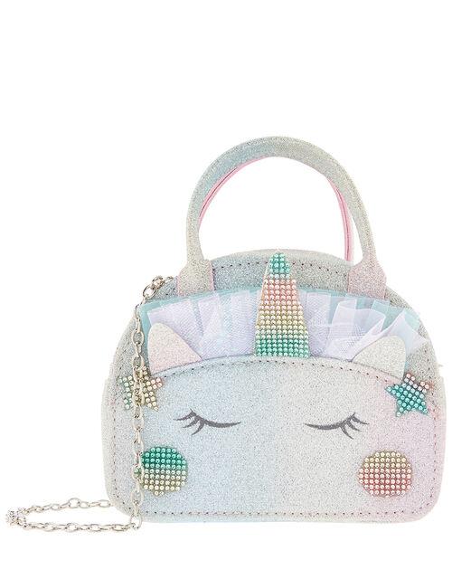 Rainbow Dazzle Unicorn Bag, , large
