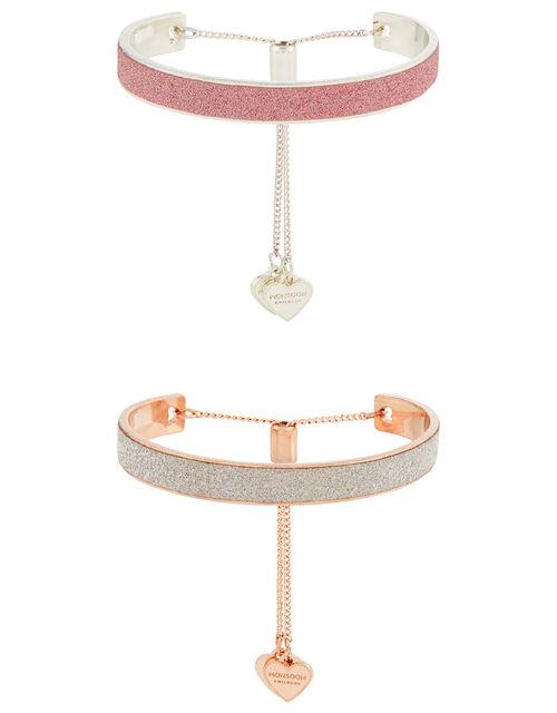 Sparkle Cuff Bracelet Set, , large