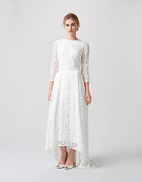 Dominika Bridal Skirt Ivory, Ivory (IVORY), large