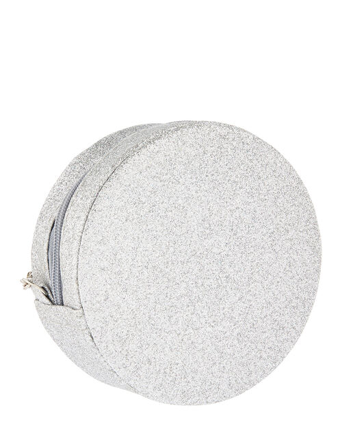 Carly Bow Sparkle Round Bag, , large