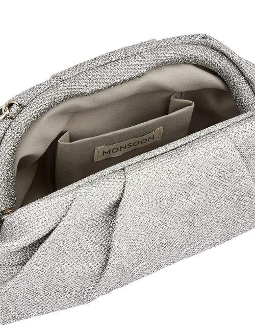 Glitter Occasion Clutch Bag, , large