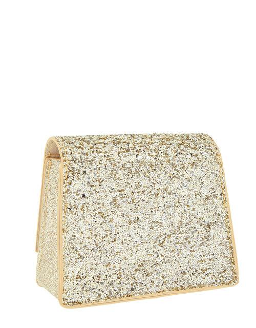 Grace Bow Glitter Mini Bag, , large