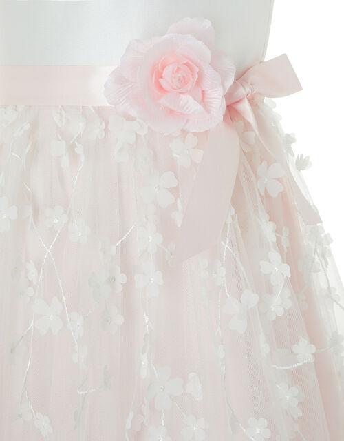 Eloise Floral Occasion Dress, Pink (PALE PINK), large