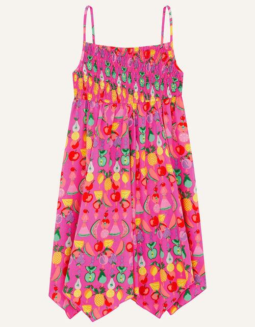 Freya Fruit Beach Dress, Pink (PINK), large