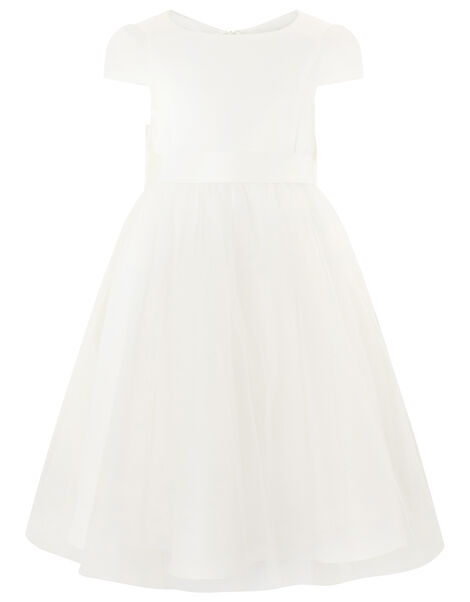 Tulle Bridesmaid Dress Ivory, Ivory (IVORY), large
