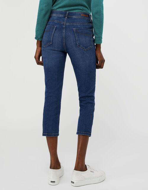 Idabella Capri Jeans with Organic Cotton, Blue (DENIM BLUE), large