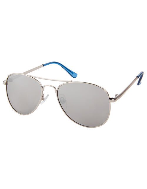 Blue Aviator Sunglasses, , large