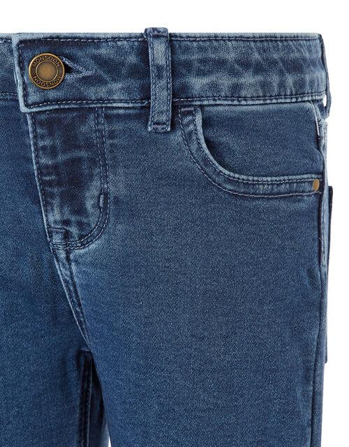 Daja Denim Shorts, Blue (BLUE), large