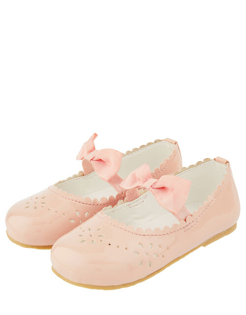 Baby Paisley Patent Shoes, Pink (PALE PINK), large