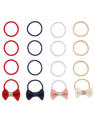 Mini Bow Hair Band Multipack, , large