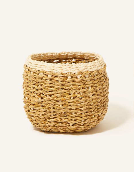 Round Border Basket, , large