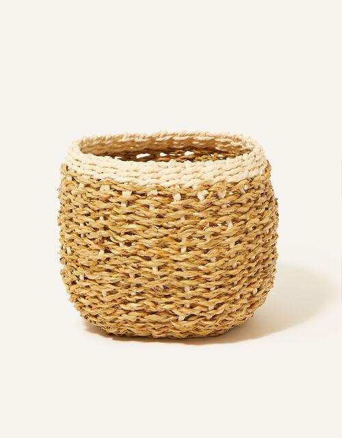 Round Border Basket, , large