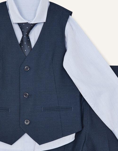 Adam Five-Piece Suit Set, Blue (NAVY), large