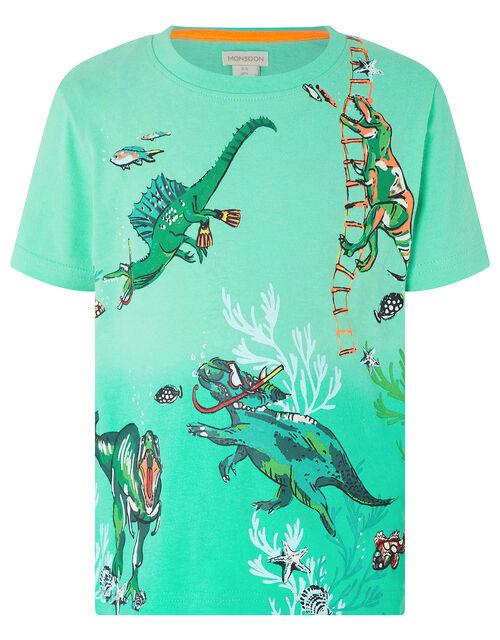 Mason Dinosaur T-Shirt, Green (GREEN), large