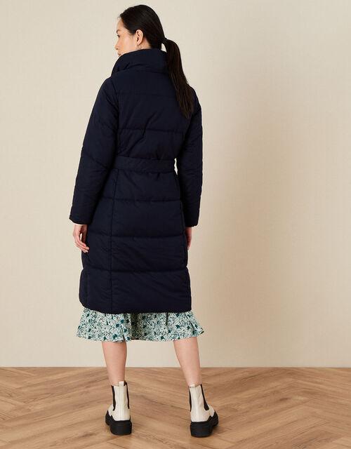 Paige Padded Coat, Blue (NAVY), large