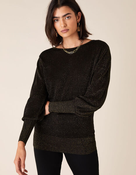 Sparkle Jumper with Sustainable Viscose Copper, Copper (COPPER), large