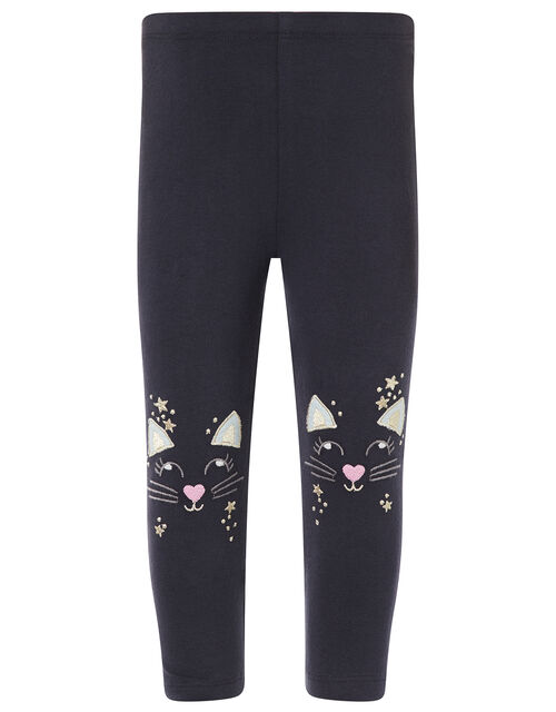 Baby Mouse Top and Leggings Set, Blue (AQUA), large