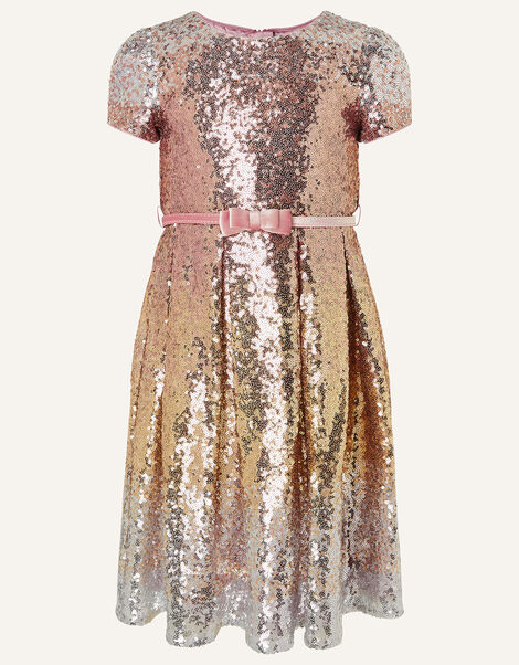 Sparkle Sequin Dress  Gold, Gold (ROSE GOLD), large