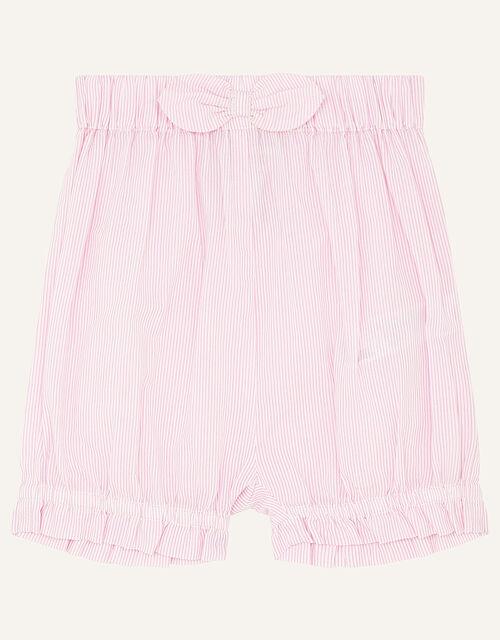 Newborn Strawberry Top and Shorts, Pink (PINK), large