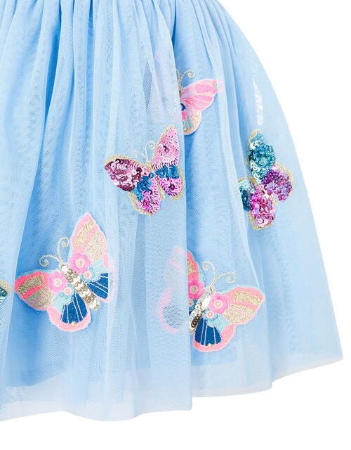 Disco Butterfly Skirt, Blue (BLUE), large