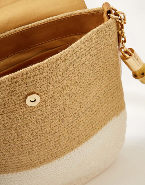 Jessie Jute Cross-Body Bag | Accessories | Monsoon UK.