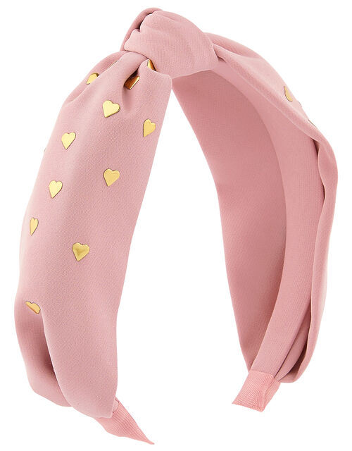 Heart Stud Knot Headband, , large