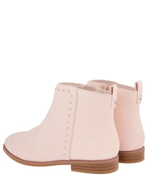Latisha Stud Ankle Boots, Pink (PINK), large