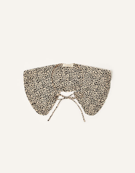 Animal Print Tie Collar , , large